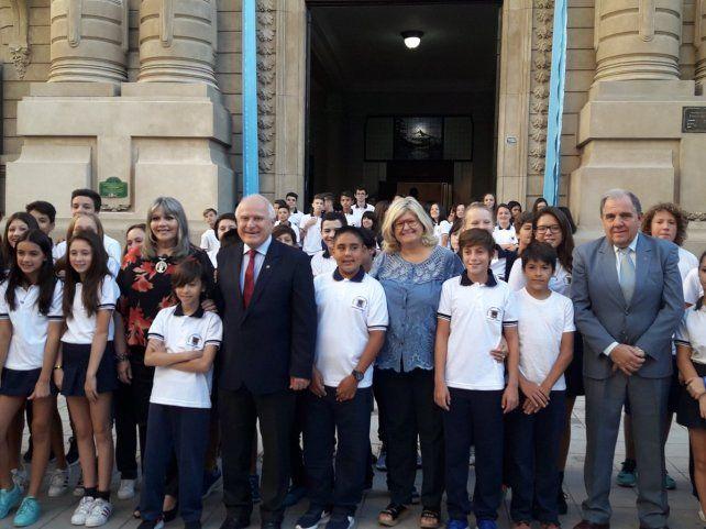 Balagué se mostró confiada en lograr un acuerdo con los docentes