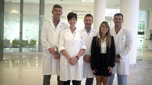 El equipo de la Unidad de Hígado del Hospital Privado de Rosario.