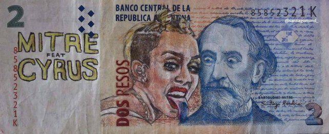 La cantante estadounidense, Miley Cyrus.