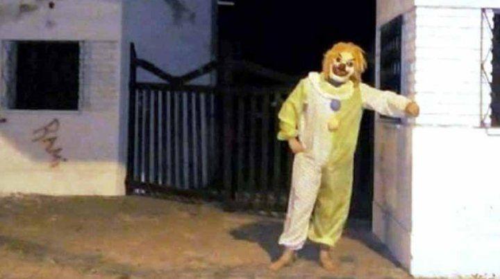 Detuvieron a un payaso maldito que causaba terror entre los chicos