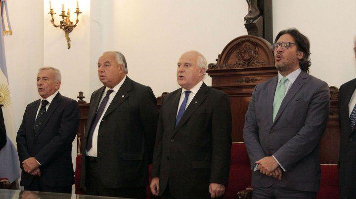 El gobernador junto al ministro de Justicia de la Nación