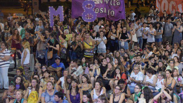 Las mejores imágenes del 8M en Rosario