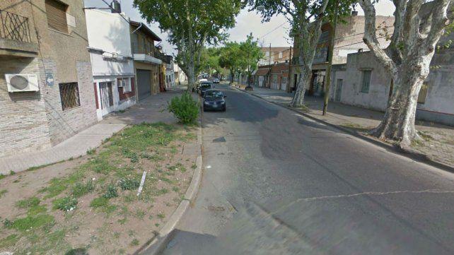 Montevideo al 4300. El lugar donde ocurrió el ataque