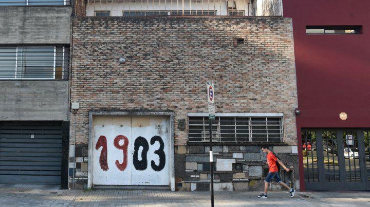 El lugar. La casa del artista sufrió largos avatares judiciales.