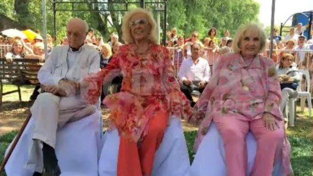 Emotivo homenaje a Mirtha Legrand en Villa Cañás