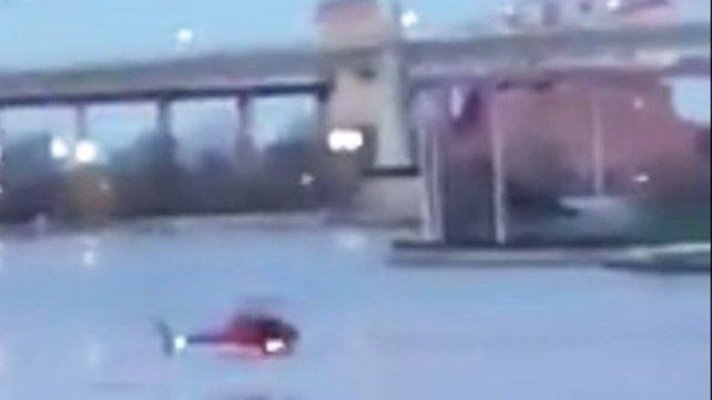 Dos muertos. Autoridades de Nueva York confirmaron ese números de víctimas fatales del accidente.