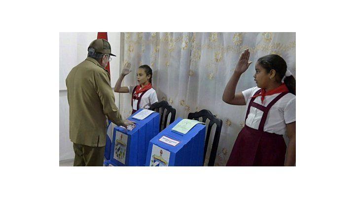 eterno. Raúl Castro