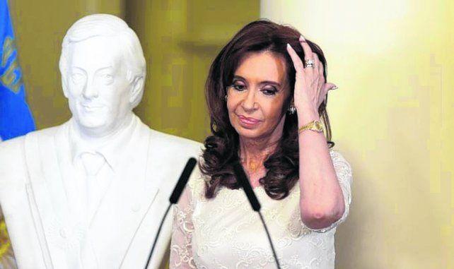 Ex presidenta. Cristina Kirchner.