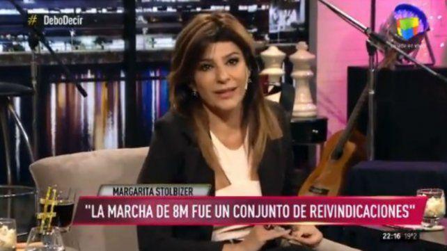 Carolina Papaleo cargó contra la diferencia salarial en la actuación
