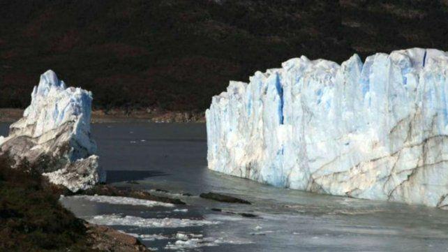 El puente de hielo del Perito Moreno se rompió de noche
