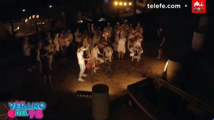 Los chicos de Verano del 98 cantaron Nada nos puede pasar 20 años después y fue tendencia