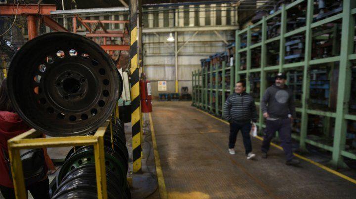 La planta de Ovidio Lagos al 4400 espera ser reactivada.