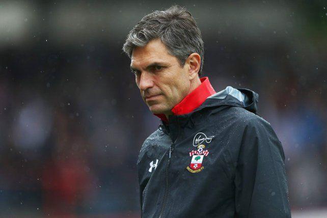Afuera. Los malos resultados llevaron a Southampton a despedir al argentino Pellegrino.