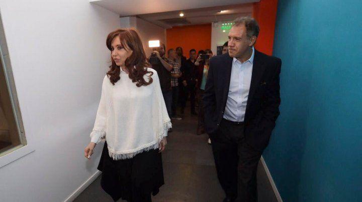 Cristina Kirchner y Daniel Hadad