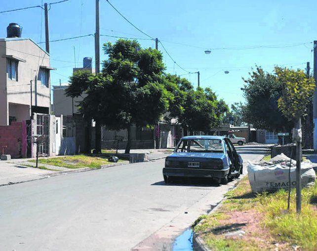zona oeste. Mendoza fue asesinado el lunes en el barrio Godoy.