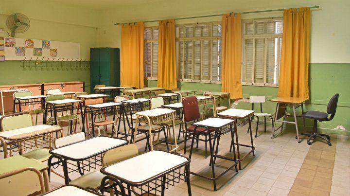 Las aulas vacías