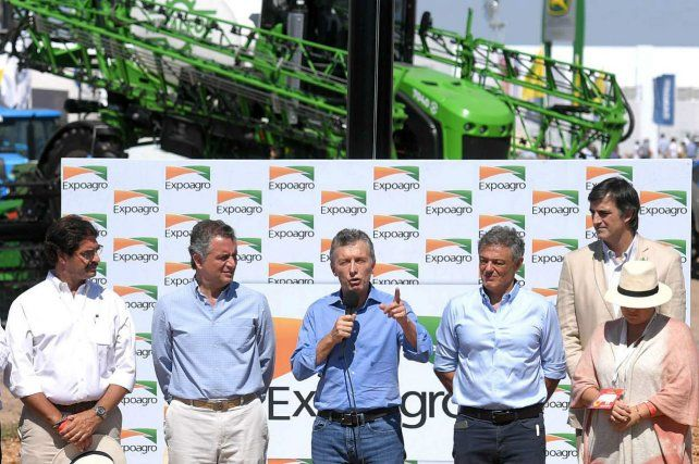 El presidente dijo que ayudará al campo para que pueda paliar los daños que causó la sequía.