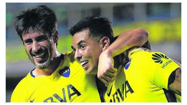 Figuras. Pablo Pérez y Edwin Cardona están pasando por un buen momento.