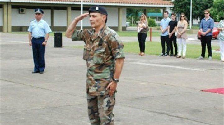 El vicecomodoro Pablo Dip.