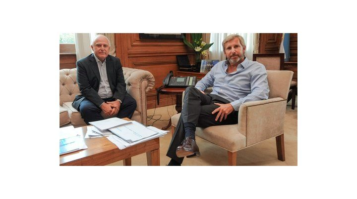 Encuentro en Casa de Gobierno. Lifschitz y Frigerio intentan avanzar en el pago de la deuda millonaria que tiene la Nación con la provincia.