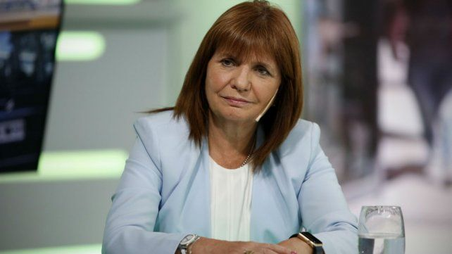 La ministra de Seguridad defendió a Luis Chocobar.