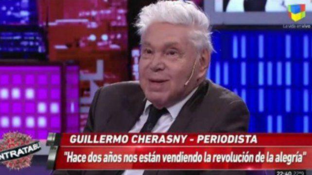 Cherasny: Nos venden la revolución de la alegría hace dos años