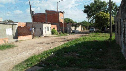 Pavón y Pablo V. El lugar donde atacaron a tiros a Cristian Javier Pupila A.