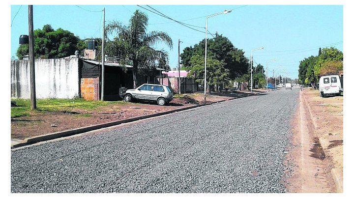 progreso. Se realizaron obras de mejorado y cordón-cuneta en calles.