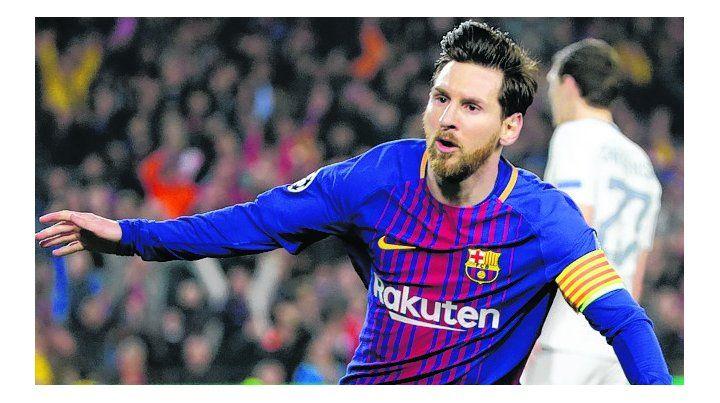 Messi gritó 100 veces en la Champions y sigue el Barsa