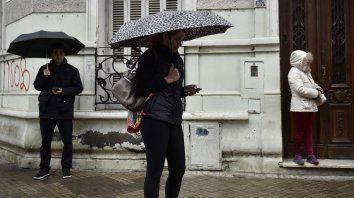 Rosario tendrá una jornada con tiempo inestable según el Servicio Meteorológico.