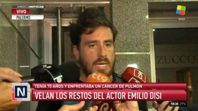 Emotivo recuerdo de Fede Bal tras el fallecimiento de Emilio Disi