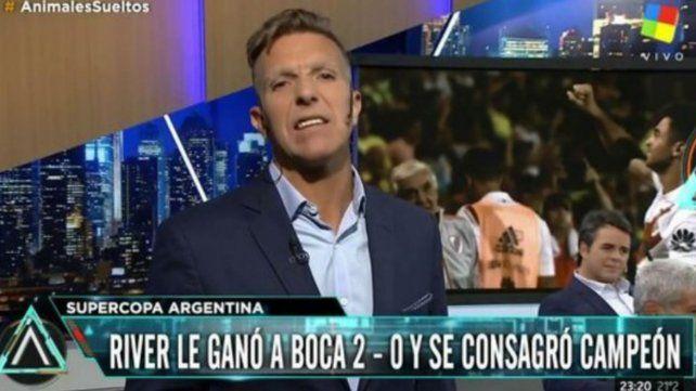Fantino explotó tras la derrota de Boca ante River en la final de la Supercopa