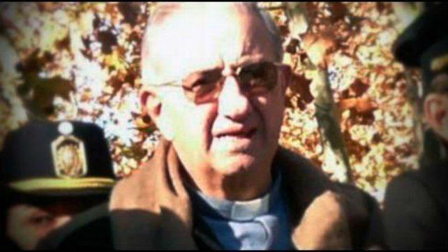 Eugenio Zitelli, ex capellán de la Policía durante la dictadura.