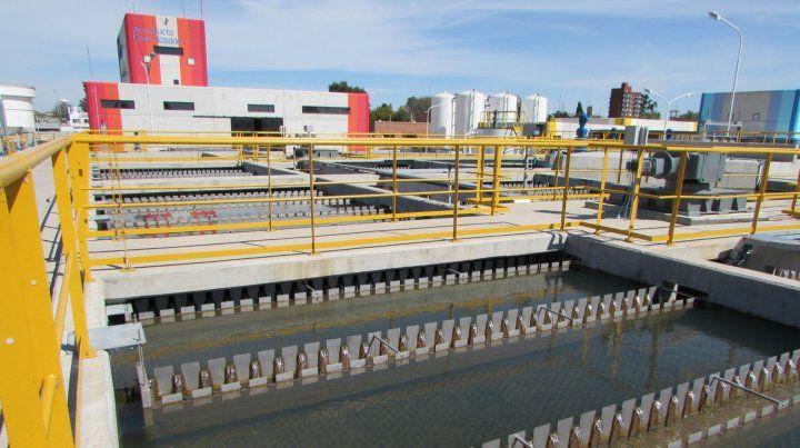 La nueva planta duplicará el suministro de agua potable en la ciudad y alrededores.