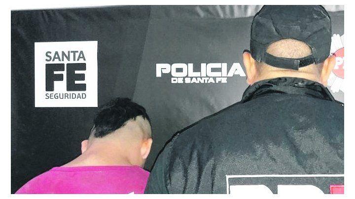 presentación. El sospechoso se entregó ayer en la sede PDI.