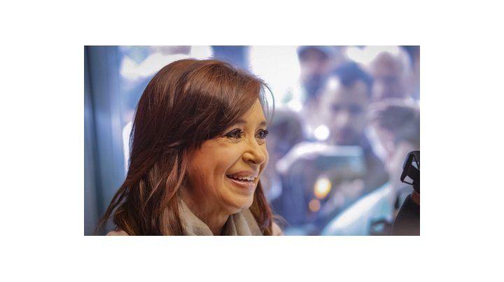 Ex presidenta. Cristina Kirchner tiene un complicado frente judicial.