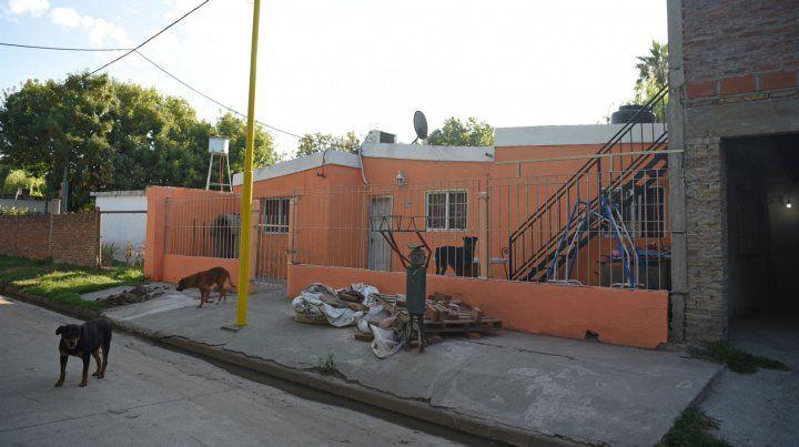 El lugar donde ocurrió el ataque en Puerto San Martín.