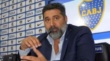 El presidente de Boca, Daniel Angelici, pidió que el equipo xeneize sea proclamado campeón de la Libertadores.