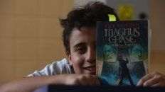 Dante Moglione recomienda la saga de Rick Riordan Magnus Chase.