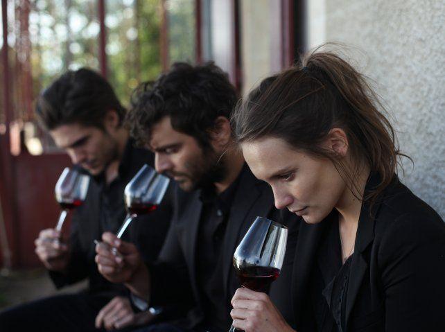 Tres hermanos enlazados por un solo amor: el vino.