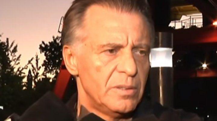 Estuve secuestrado. Cristóbal López fue excarcelado y tuvo su primer contacto con la prensa.