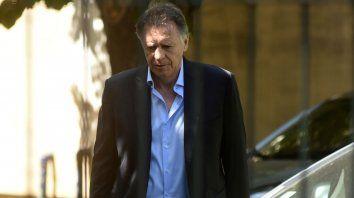 Empresario libre. Cristóbal López cargó con Ercolini, el juez que ordenó su detención en diciembre pasado.