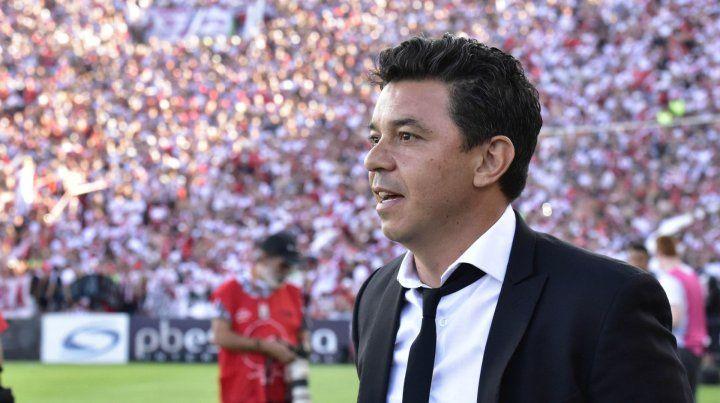 Gallardo. El técnico ahora quiere recuperar el terreno perdido en la Superliga.