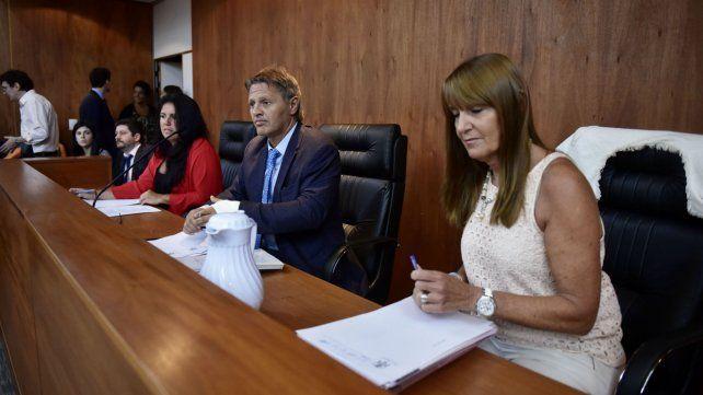 Ismael Manfrín preside el tribunal que integran también Marisol Usandizaga y Isabel Más Varela.