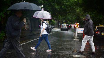 Se viene el agua. El SMN renovó el alerta meteorológico para Rosario y zonas de la región.