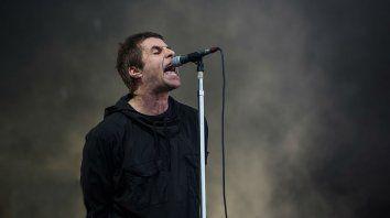 Liam sacudió al público argentino con un gran repertorio rockero.