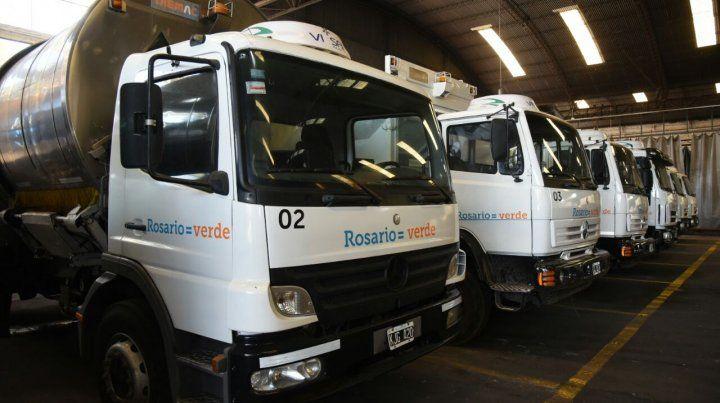 Camiones. Las unidades tienen ahora seguimiento en tiempo real.