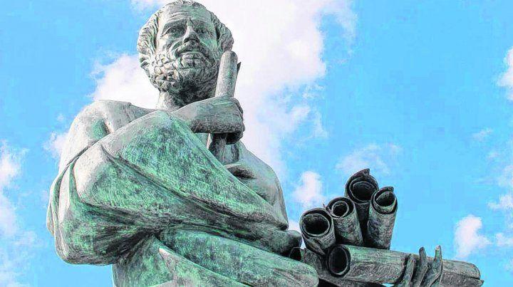 Filosofía. Aristóteles pensaba que el feto comenzaba a vivir a partir de los 40 días de la concepción si era masculino y recién a los 80 días si era femenino.