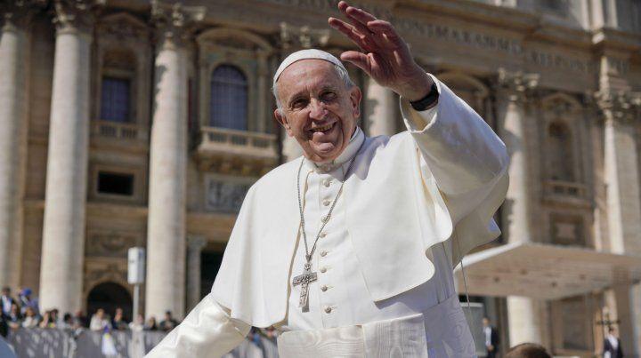 Francisco envió un mensaje al pueblo argentino.