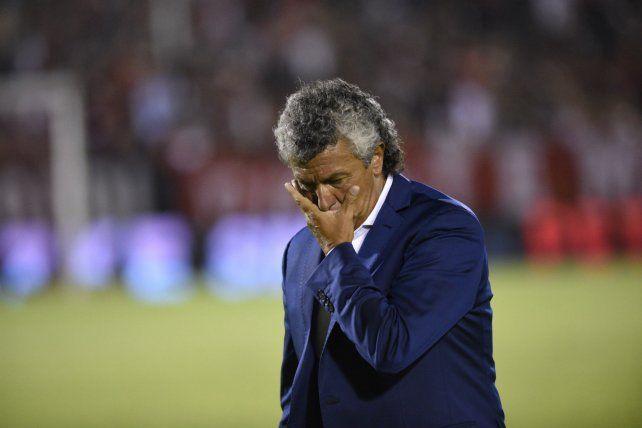 Sin palabras. Gorosito tuvo un mal 2018 al frente de San Martín de San Juan.